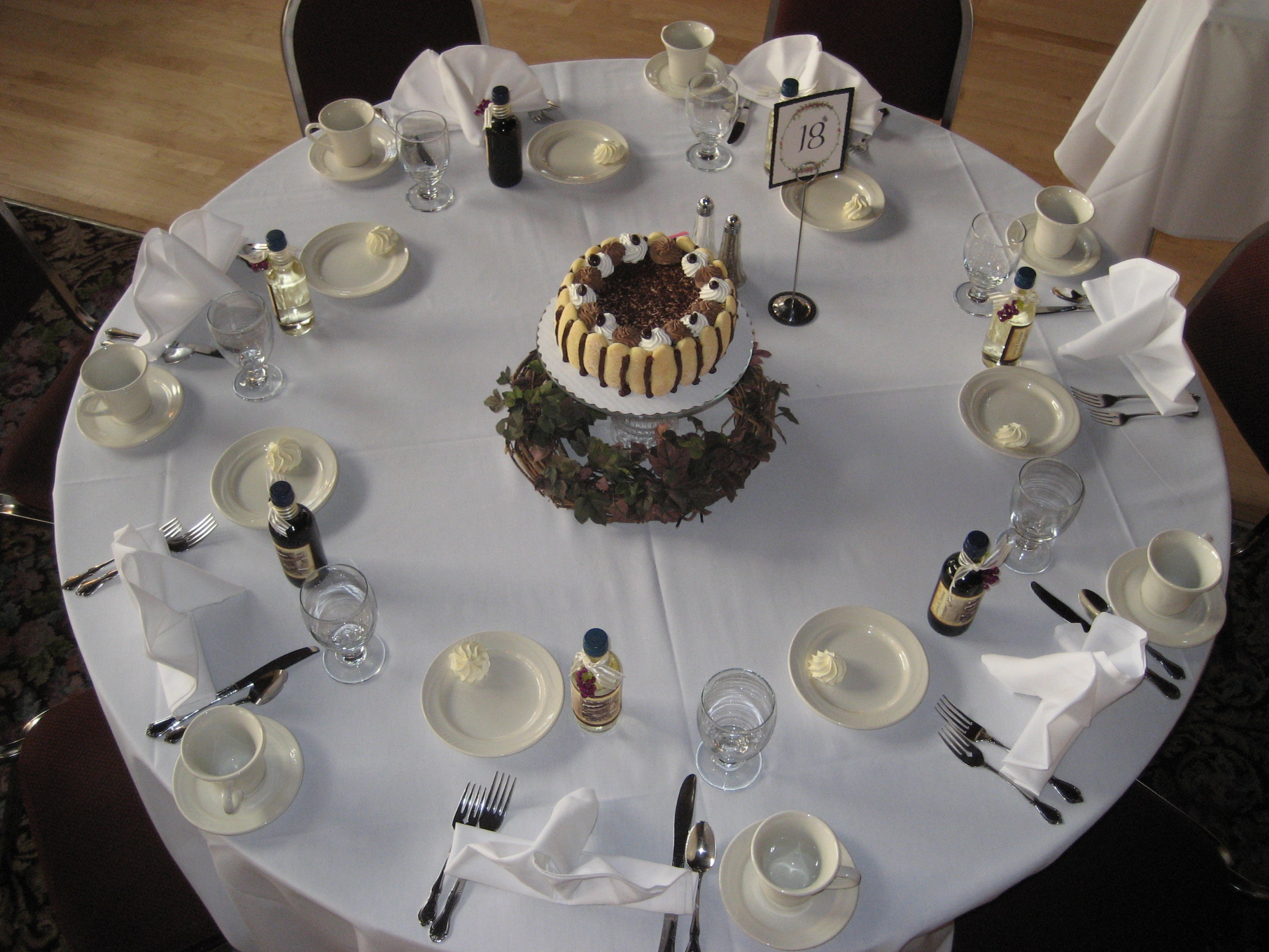 Cake Centerpieces A Wedding Wish