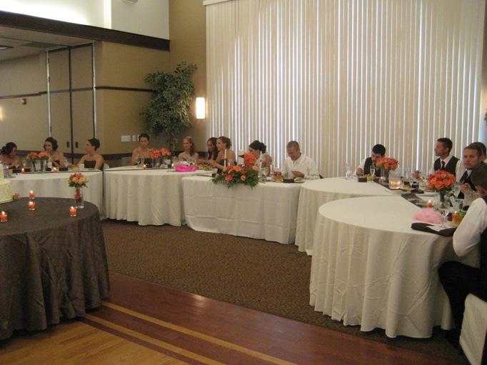 The Head Table   A Wedding Wish