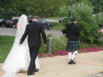 A&K - Bagpiper leading the way