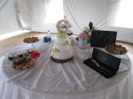 S+J: Cake and Sweets Table